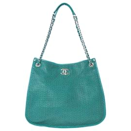 Chanel-Chanel Green Up in the Air Tote Bag-Green