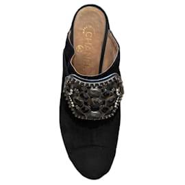 Chanel-Mules-Black