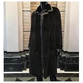 Fendi-Coats, Outerwear-Black