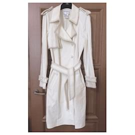 Chanel-Extremely Rare Trench Coat-Cream