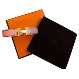 Hermès-hermes Clic H bracelet-Pink