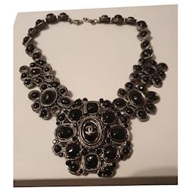 Chanel-Necklaces-Black