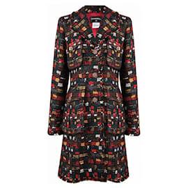 Chanel-8,6K$ Jewel Buttons Tweed Coat-Multiple colors