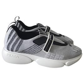 Prada-Prada Cloudbust sneakers-Grey
