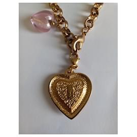 Yves Saint Laurent-Bracelets-Golden