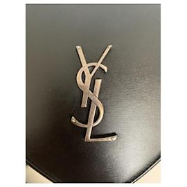 Yves Saint Laurent-Yves Saint Laurent heart bag-Black