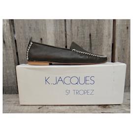 K Jacques-mocassins K Jacques pointure 40 neufs en boîte-Khaki
