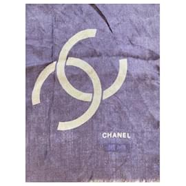 Chanel-Superb Chanel shawl-Brown,Golden