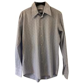 Versace-Shirts-Blue