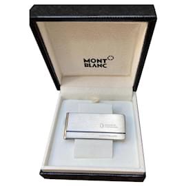 Montblanc-New Montblanc money clip-Silver hardware