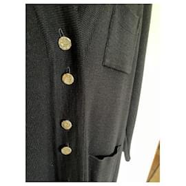 Alain Manoukian-Black wool jacket-Black