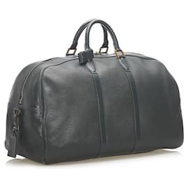 Louis Vuitton-Louis Vuitton Taiga Kendall GM-Dark green