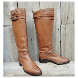 Sartore-Sartore p riding boots 39-Light brown