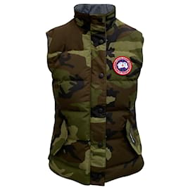 Canada Goose-Canada Goose Freestyle Vest Military Print Heritage-Other