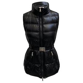 Moncler-Moncler Belted Down Vest-Black