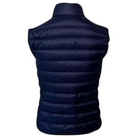 Moncler-Moncler Blue Liane Down Vest-Blue