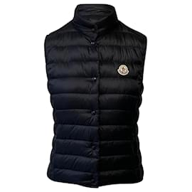 Moncler-Moncler Black Liane Down Vest-Black