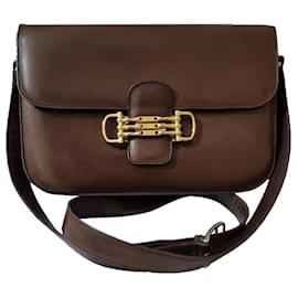 Céline-Handbags-Brown