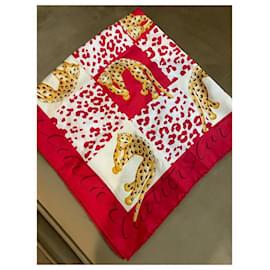Cartier-Silk scarves-Multiple colors