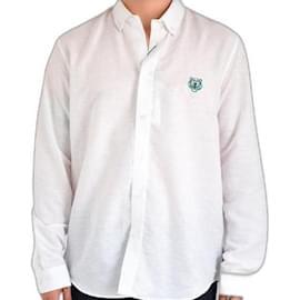 Kenzo-upperr Crest casual shirt-White