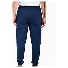 Kenzo-upperr Crest jogging trousers-Blue
