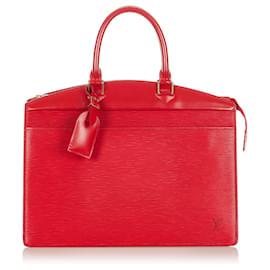 Louis Vuitton-Louis Vuitton Red Epi Riviera-Red