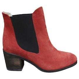 Ganni-Ganni boots size 38 New condition-Brown