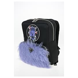 Prada-Prada FRANKENSTEIN  backpack-Black