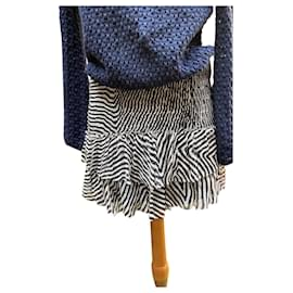 Isabel Marant Etoile-Skirt Naomi Isabel Marant star-Black,White