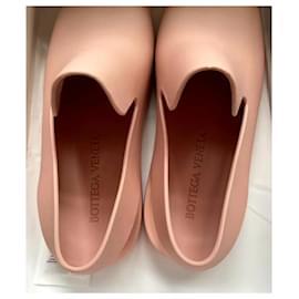Bottega Veneta-BOTTEGA VENETA Rubber Sandals Slingbacks-Peach