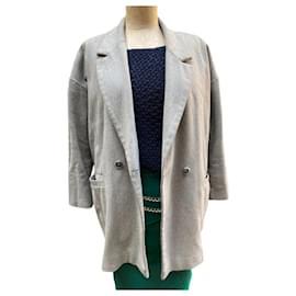 American Vintage-American Vintage Coat-Grey