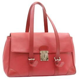 Louis Vuitton-LOUIS VUITTON Epi Segur MM Shoulder Bag Red M5886E LV Auth 24067-Red