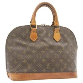 Louis Vuitton-LOUIS VUITTON Monogram Alma Hand Bag M51130 LV Auth 23935-Other