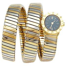 "Bulgari-Bulgari vintage watch, ""Serpenti"", two tones of gold.-Other"