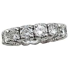 inconnue-White gold full turn wedding ring.-Other