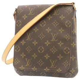 Louis Vuitton-LOUIS VUITTON Monogram Musette Salsa Long Shoulder Bag M51257 LV Auth 23933-Other