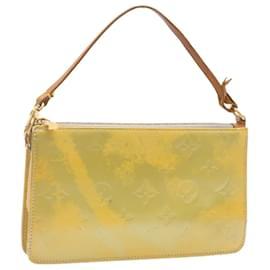 Louis Vuitton-LOUIS VUITTON Monogram Vernis Lexington Pouch Gris M91056 LV Auth 23949-Other