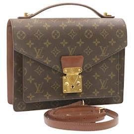 Louis Vuitton-Louis Vuitton Monogram Monceau 2Way Hand Bag M51185 LV Auth 23950-Other