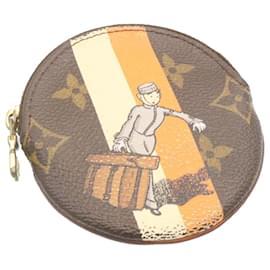 Louis Vuitton-LOUIS VUITTON Monogram Groom Porte Monnaie Porte Monnaie Rond M60037 auth 23955-Autre