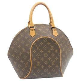 Louis Vuitton-LOUIS VUITTON Monogram Ellipse MM Hand Bag M51126 LV Auth 23960-Other