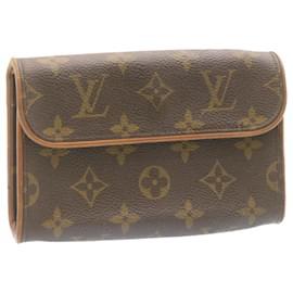 Louis Vuitton-LOUIS VUITTON Monogram Pochette Florentine Bum Bag M51855 LV Auth 23972-Other