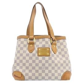 Louis Vuitton-LOUIS VUITTON Damier Azur Hampstead PM Tote Bag N51207 LV Auth 23982-Other
