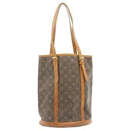 Louis Vuitton-LOUIS VUITTON Monogram Bucket GM Shoulder Bag M42236 LV Auth 23987-Other