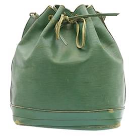 Louis Vuitton-LOUIS VUITTON Epi Noe Shoulder Bag Green M44004 LV Auth 24012-Green
