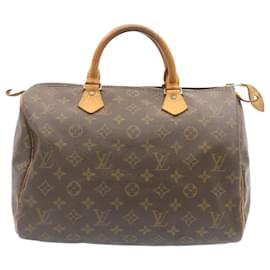 Louis Vuitton-Louis Vuitton Monogram Speedy 30 Hand Bag M41526 LV Auth 24018-Other