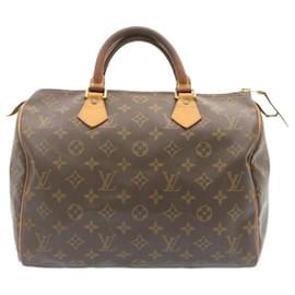 Louis Vuitton-Louis Vuitton Monogram Speedy 30 Hand Bag M41526 LV Auth 24019-Other