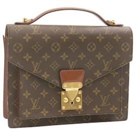 Louis Vuitton-LOUIS VUITTON Monogram Monceau Hand Bag M51185 LV Auth 24023-Other