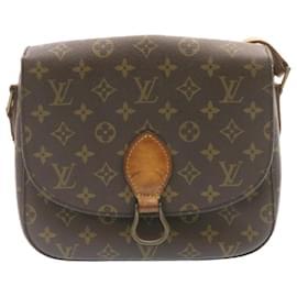 Louis Vuitton-LOUIS VUITTON Monogram Saint Cloud GM Shoulder Bag M51242 LV Auth 24024-Other