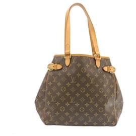 Louis Vuitton-LOUIS VUITTON Monogram Batignolles Vertical Tote Bag M51153 LV Auth 24036-Other