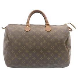 Louis Vuitton-Louis Vuitton Monogram Speedy 35 Hand Bag M41524 LV Auth 24043-Other